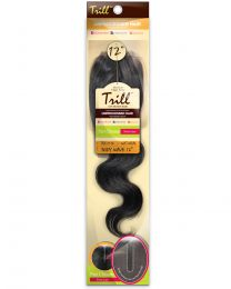 "TRILL SWISS LACE 4""X4"" HUMAN HAIR PART CLOSURE"